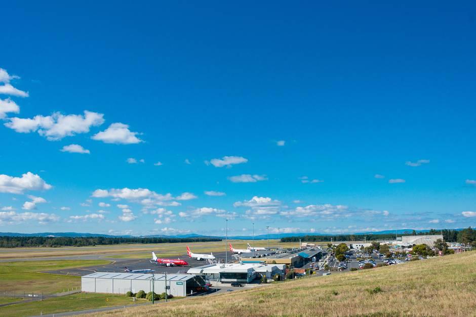 Flughafen auf Tasmanien/Australien