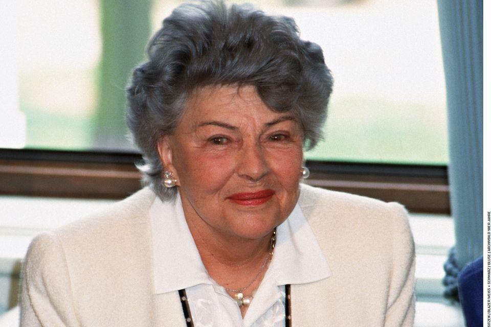 Aenne Burda liebte ihren Job. Erst mit 85 Jahren zog sie sich aus der Verlagsleitung zurück