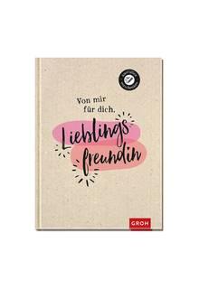 """Gemeinsam Geschichte schreiben, mit dem Eintragbuch """"Lieblingsfreundin"""".Rund 10 Euro, über geschenke.de"""