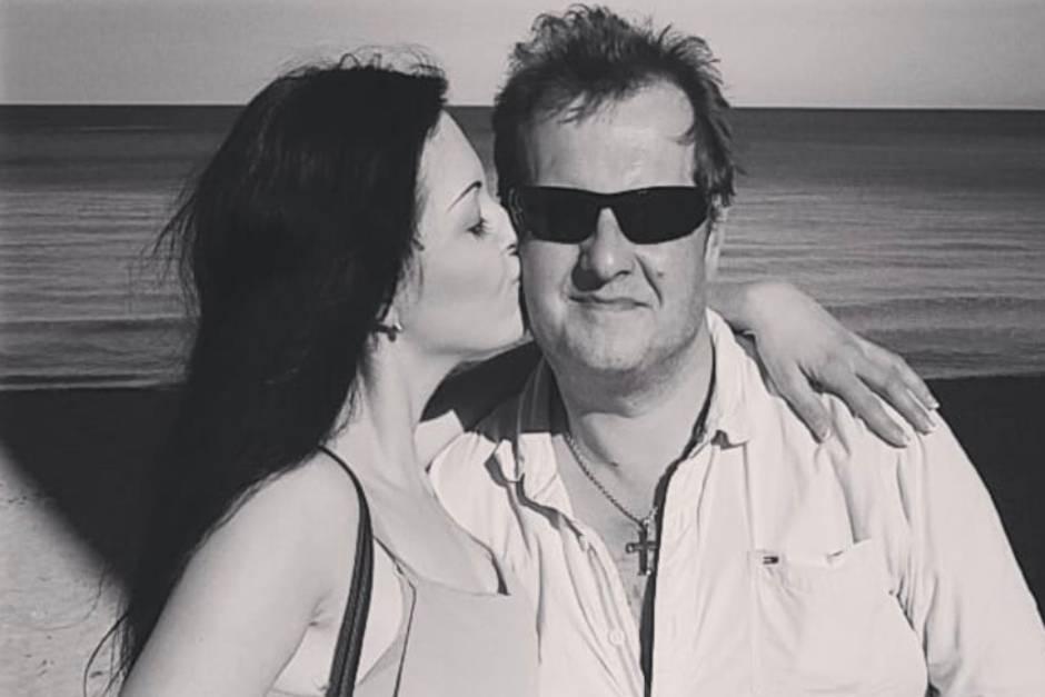 Jenny und Jens Büchner (†) auf Mallorca.