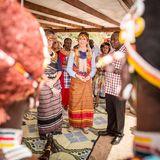 27. November 2018  Umringt von Einheimischen: Prinzessin Mary besucht dasLandschaftsschutzgebiet Kalama Community Conservancy im Samburu County in Kenia.