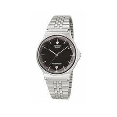 """Klassische Armbanduhr mit modernem Twist. Modell """"Bold"""" von Casio, rund 55 Euro"""