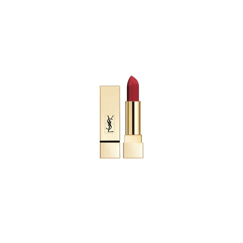 """Rote Lippen soll Man(n) küssen: Deshalb ist der """"Rouge Pur Couture The Mats"""" von Yves Saint Laurent in der Farbe """"Orange Imagine 201"""" ein schönes und ein wenig eigennütziges Geschenk. Ca. 34 Euro."""
