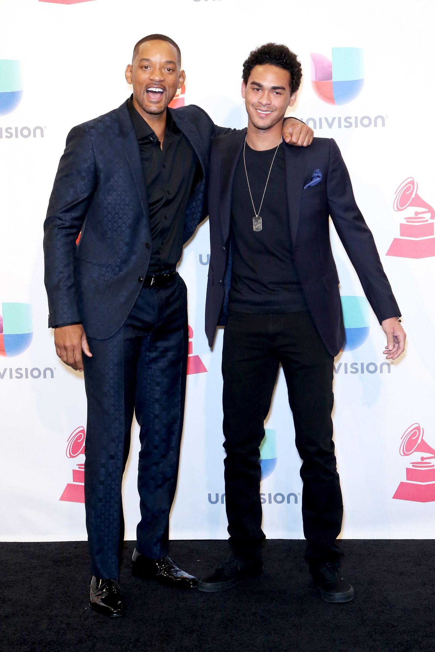 Will Smith und sein Sohn Trey Smith