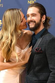 Heidi Klum und Tom Kaulitz  Kennengelernt haben sich Tom Kaulitz und Heidi Klum auf der Geburtstagsparty von Michael Michalsky. Monatelang gab es zahlreiche Spekulationen - mittlerweile wissen wir, dass Heidi und der 16 Jahre jüngere Tom ein Paar sind.