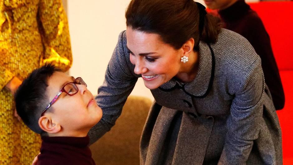 Der 6-jährige Sai Gokani ist ein großer Fan von Herzogin Catherine