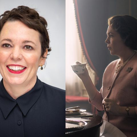 "Olivia Coleman in ""The Crown"""