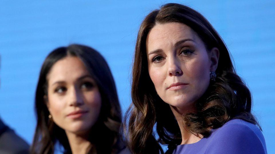 """Herzogin Meghan und Herzogin Catherine beim """"Royal Foundation Forum"""""""