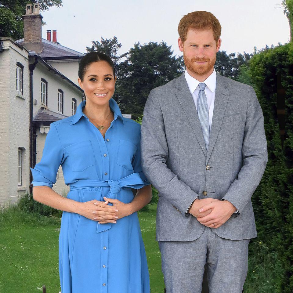 Herzogin Meghan und Prinz Harry ziehen ins Frogmore Cottage