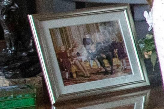Queen Elizabeth und Prinz Philip mit all ihren Enkeln
