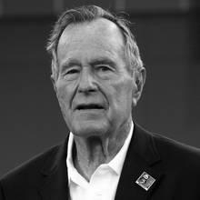 George H. W. Bush amtierte als 41. Präsident der Vereinigten Staaten