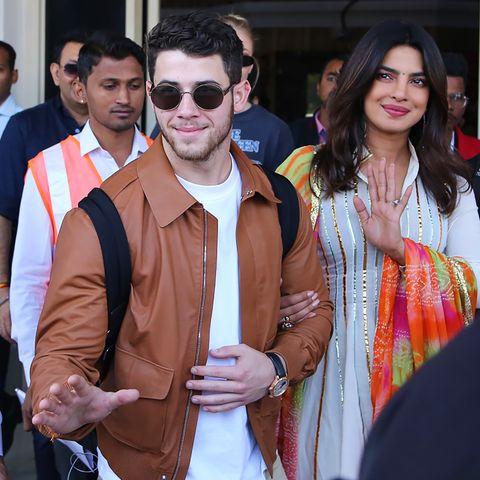 Nick Jonas und Priyanka Chopra
