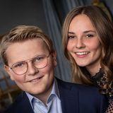 3. Dezember 2018  Auf einem weiteren neuen Bild des norwegischen Königshauses strahlen Prinz Sverre Magnus und seine Schwester Ingrid Alexandra.