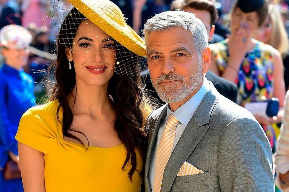 Amal und George Clooney haben zur Dinner-Party geladen.