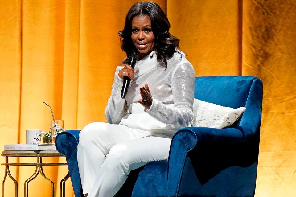 Auch Michelle Obama will kommen.