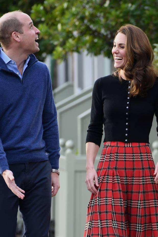Prinz William + Herzogin Catherine: Ihre erste Weihnachtsfeier 2018 ...