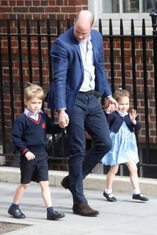 Prinz George, Prinz William, Prinzessin Charlotte