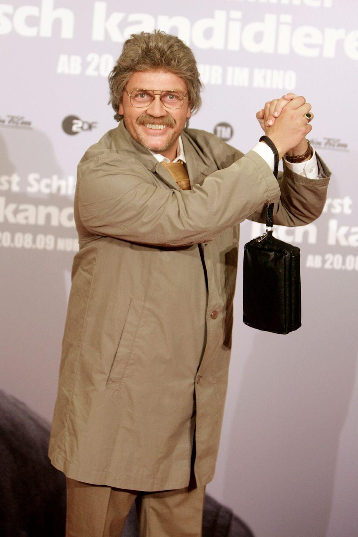 Paraderolle:Im GALA-Interview macht Kerkeling Hoffnung, dass Chefreporter Horst Schlämmer zurückkehrt
