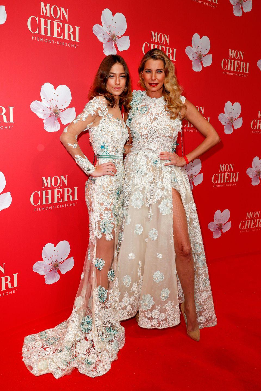 Giulia Siegel mit Tochter Mia Wehrmann