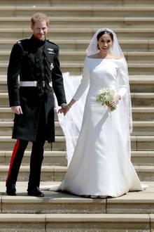Mai 2018  Am 19. Mai 2018 geben sich Prinz Harry und Meghan Markle das lang ersehnte Jawort in der St.Georges Chapel in Windsor.