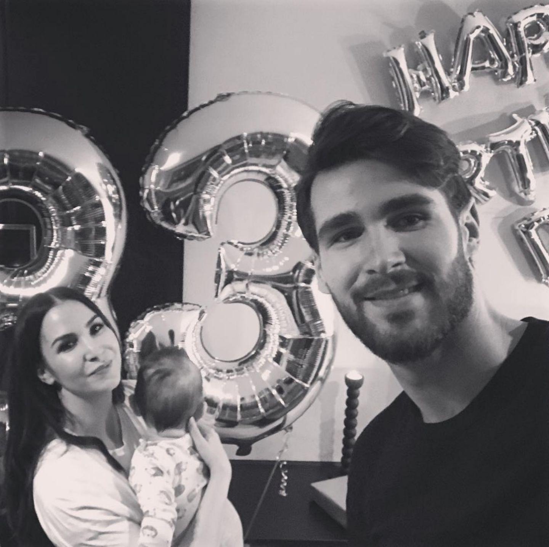 5. Dezember 2018  Happy Birthday, Sila Sahin! Der ehemalige GZSZ-Star feiert seinen 33. Geburtstag. Ihre zwei Männer haben ihr sogar Luftballons besorgt. Mit ihrem Liebsten Samuel Radlinger und dem gemeinsamen Sohn genießt sie ihren Ehrentag.