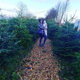 Erstes Weihnachten mit Baby fürMotsi Mabuse. Die schöne Tänzerin ist so richtig in Christmas-Stimmung und auf der Suche nach dem perfekten Tannenbaum.