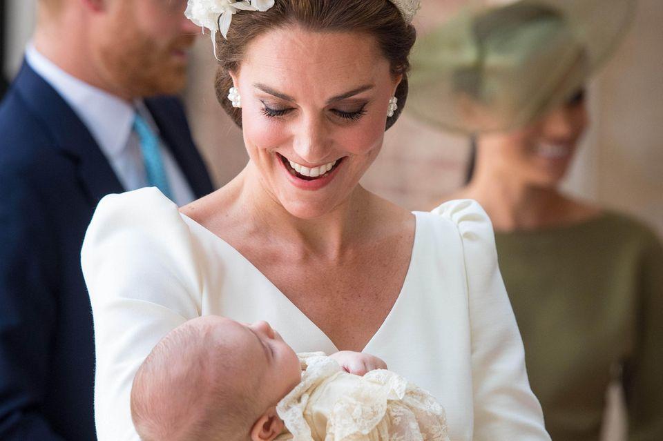 Herzogin Catherine mit Sohn Louis