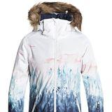 """Wenn der Berg ruf, gilt es stylisch zu antworten. Heißt: Rein in die coole """"Jet Ski""""-Jacke von Roxy und ab auf die Piste. Von Roxy, ca. 220 Euro."""