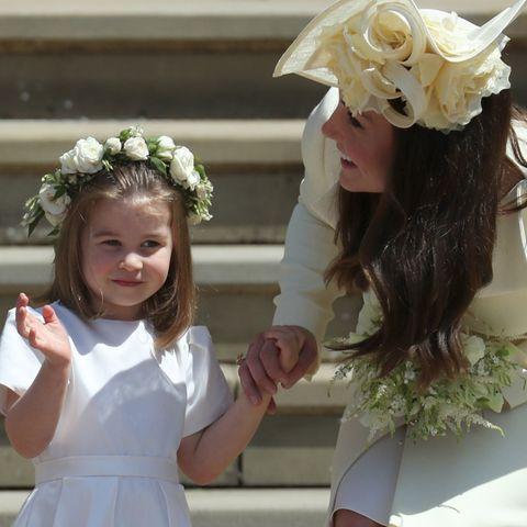 Prinzessin Charlotte mit Herzogin Catherine