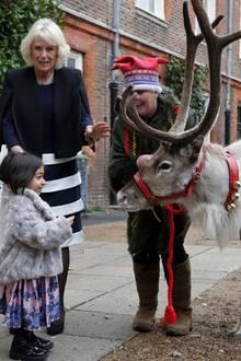 6. Dezember 2018  Im Rahmen einer Charity-Veranstaltung verbringt Herzogin Camilla einen Vormittag mit Kindern eines Hospiz. Man kann gar nicht sagen, wer die Rentiere spannender findet. Aber das ist längst nicht alles...
