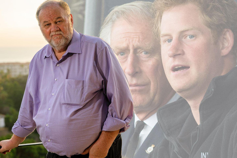Thomas Markle, Prinz Charles, Prinz Harry