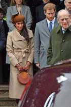 Herzogin Catherine, Prinz William, Herzogin Meghan, Prinz Harry, Prinz Philip