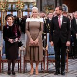 Die Königsfamilie nimmt Platz und eröffnet die Veranstaltung. Seit 1901 wird der wichtigste internationale Friedenspreis am Todestag von Alfred Nobel verliehen.