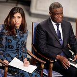 Der diesjährige Friedensnobelpreis geht an die irakische Menschenrechtsaktivistin Nadia Murad und an den kongolesischen Arzt Denis Mukwege.