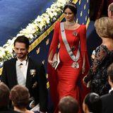 Auch Prinz Carl Philip und seine Frau Prinzessin Sofia kommen zur Verleihung ins Stockholmer Konzerthaus.