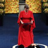 Donna Strickland erhält den Nobelpreis für Physik.