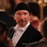 Auch David Howell Evans, Gitarristder irischen Rockband U2, ist Gast des Nobelbanketts in Stockholm.
