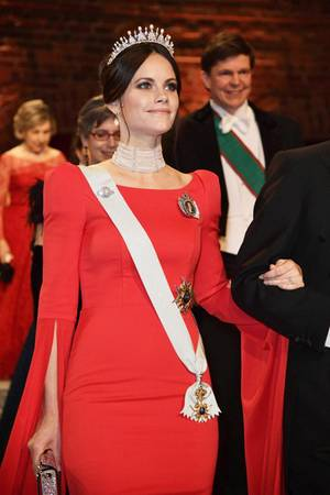 Prinzessin Sofia bei der Nobelpreis-Zeremonie 2018