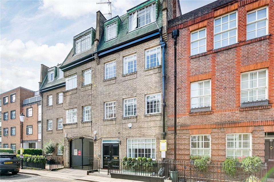 Das Wohnhaus in derOld Church Street im Londoner Stadtteil Chelsea