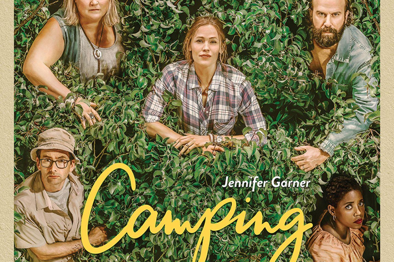 "Jennifer Garner geht zelten – Das Filmplakat der neuen ""Camping""-Serie."