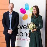 11. Dezember 2018   Prinz William und Herzogin Catherine besuchen das Evelina London Children's Hospital. Besonders Catherine sorgt mit ihrer Aufgeschlossenheit und ihrem strahlenden Lächeln für Freude an dem Event ...