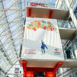 11. Dezember 2018  Mit dem Banner wird das 150-jährige Bestehen desEvelina London Children's Hospitals gefeiert ...