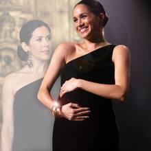 Herzogin Meghan + Prinzessin Mary