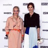 Prinzessin Mary im Rahmen der Fashion Week in Kopenhagen. Die stilbewusste Prinzessin und die ehemalige Schauspielerin scheinen einen ähnlichen Geschmack in Sachen Mode zu haben.