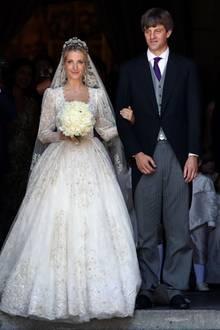 Im Juli 2017 heirateten Ekatarina und Prinz Ernst August Jr. in der Marktkirche von Hannover. Die Feier fand im Anschluss auf Schloss Marienburg statt.