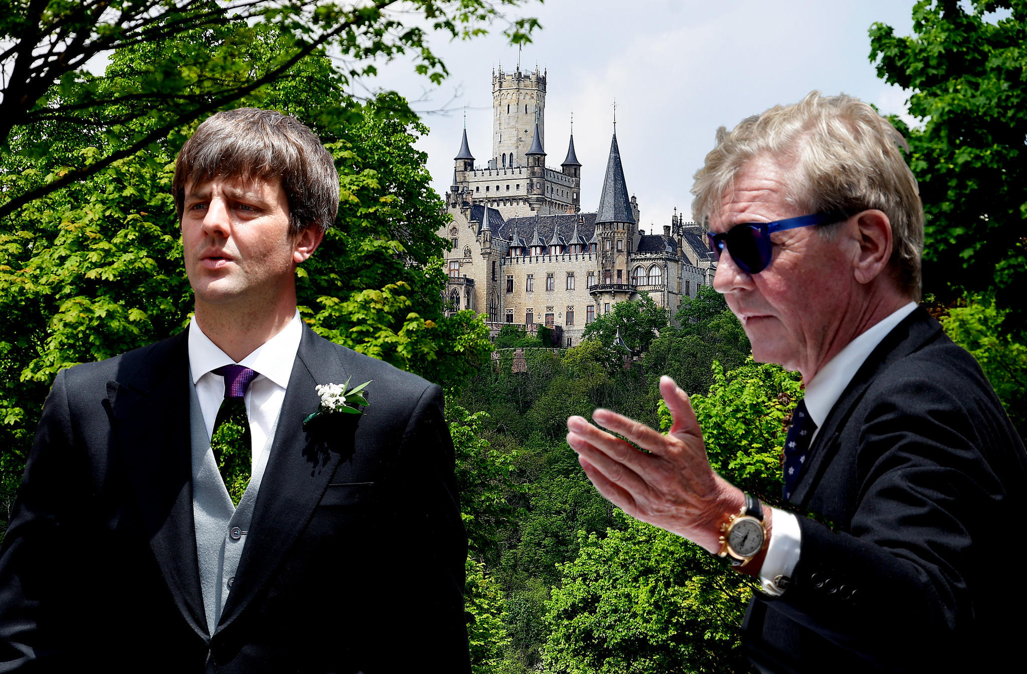 Ernst August jr. von Hannover liegt im Clinch mit Vater Ernst August sr.