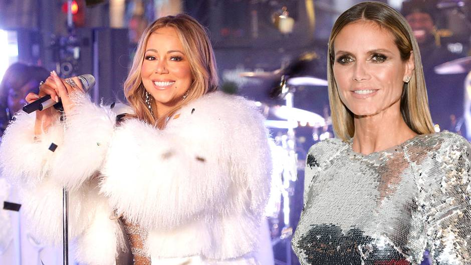 Heidi Klum und Mariah Carey liefern sich ein Weihnachtslied-Battle