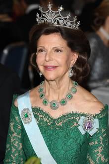 Königin Silvia feiert 2018 ihren 75. Geburtstag.
