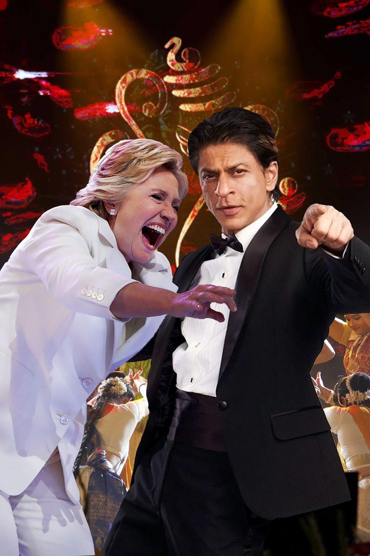 Bollywood Hochzeit mit Hillary Clinton, Beyoncé und vielen mehr