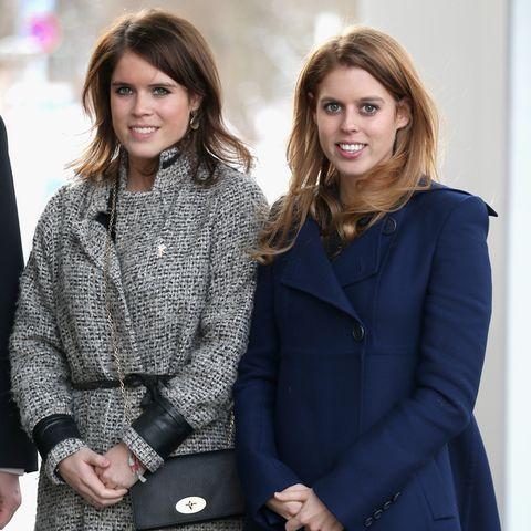 Das Lächeln scheinen sie nicht verlernt zu haben: Prinzessin Eugenie (links) ist Nummer neun in der britischen Thronfolge, Schwester Prinzessin Beatrice Nummer acht.